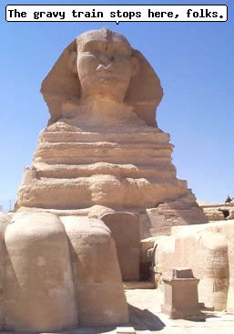 The Sphinx ©