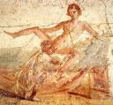 Cunnilingus fresco at Pompeii