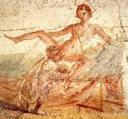 Cunnilingus fresco at Pompeii
