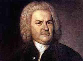 Haussmann's portrait of Bach