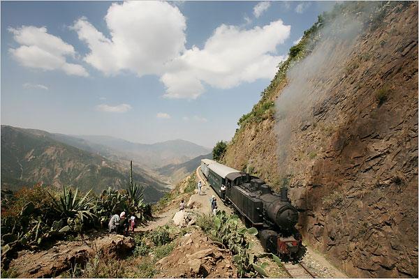 The steam train!