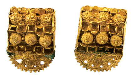 18k Italian Gold Etruscan Style Jewelry | Quality Handmade 18K