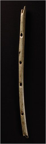 how to make a stone age instrument