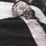 The picture seen 'round the world of Emmett Till's open casket