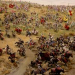 Battle of Bosworth Field diorama