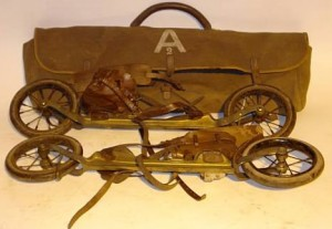 Dartlett's Road Skates, 1900