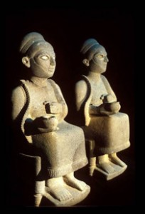 Burial figures from Qatna going on display at Wuerttemberg State Museum