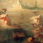 Ulysses resisting the sirens, fresco, 50-75 A.D.