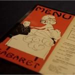 Yen Ho Chinese Cabaret Restaurant menu, 1939