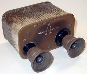 Aitchison 'Zodac' Prismatic Box Binoculars
