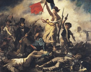 """Liberty Leading the People"", Eugène Delacroix, 1830"