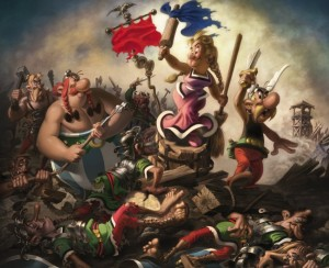 Impedimenta Leading the Gauls, Albert Uderzo, 2009