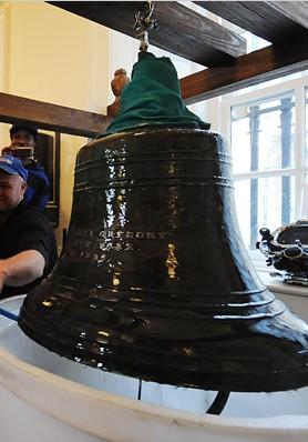 Restored Dreamland Pier bell