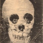 Little girls and their dog skull