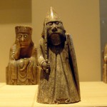 Lewis Chessmen in the National Museum of Scotland, Edinburgh