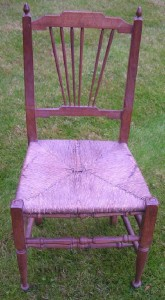 Napoleon sat in this chair