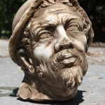 Marble head, possibly Ulysses