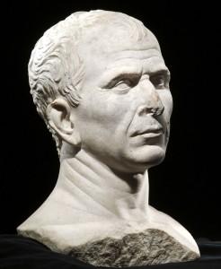 Bust of Julius Caesar, 46 B.C.