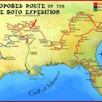 De Soto route proposed by Charles Hudson in 1997