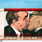 """The Kiss"" by Dmitri Vrubel, East Side Gallery, 1990"
