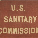 Civil War-era flag of the U.S. Sanitary Commission