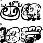 "Newly discovered hieroglyphs ""aj ix'im"" (maize-grain person) and ""aj atz'aam"" (salt person)"