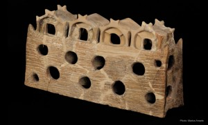 Architectural model, fired clay, 4600-3900 B.C.