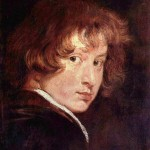 Early van Dyck self-portrait, 1613-14