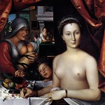 Diane de Poitiers at her bath, Franois Clouet, c. 1571