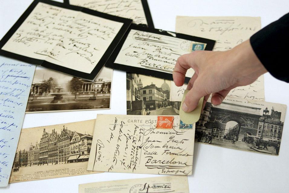 Joan Miro's correspondence