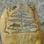 Silver Fern logo on Captain Scott&#039;s butter