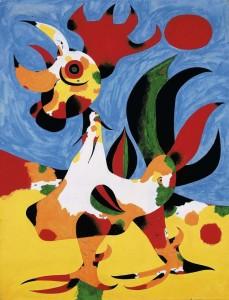"""Joan Miró, """"Le Coq"""""""