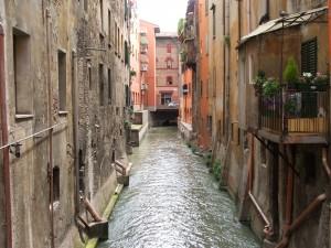 Canale delle Moline at San Vitale, Bologna