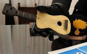 Picasso's little guitar