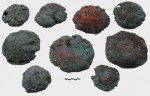 Copper 'bun' ingots, 10th-9th c. B.C.