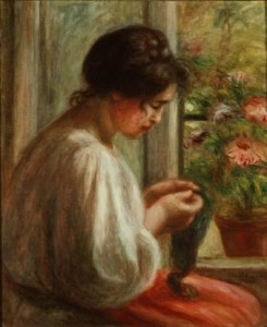 "Renoir's ""Seamstress at a Window"""