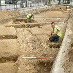 Colchester Roman circus excavation