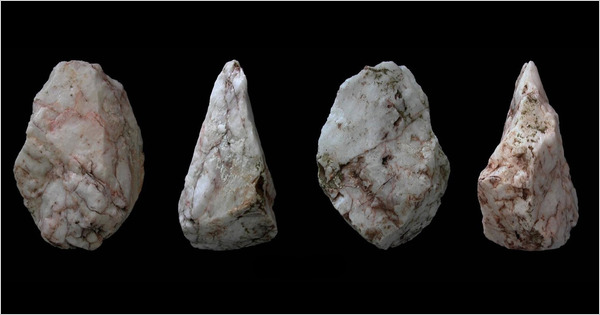 Ancient stone tools found on Crete