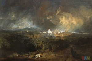 "Turner's ""The Fifth Plague of Egypt"""