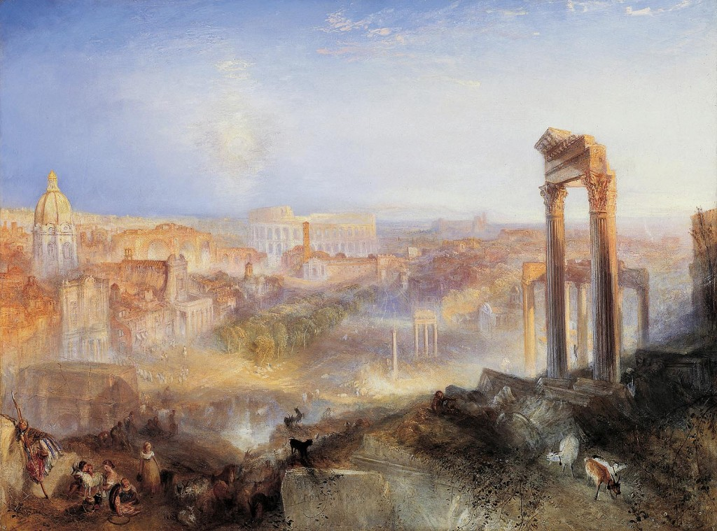 &#039;Modern Rome - Campo Vaccino&#039;, J.M.W. Turner, 1839