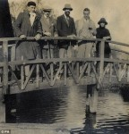 Ralph Partridge, EM Forster, Lytton Strachey, Pierre Lancel and Francis Patridge 1922-4