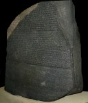 Rosetta Stone in the British Museum, picture by Hans Hillewaert