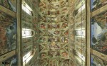 Lying on your back on the Sistine Chapel floor