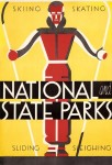 WPA National and State Parks poster by Dorothy Waugh