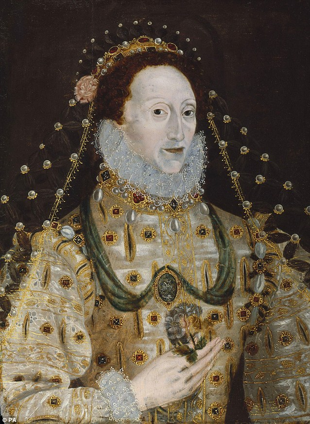 queen elizabeth 1 portrait. of Queen Elizabeth I has