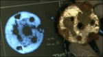 Unknown Saxon artifact and its CAT scan