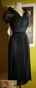 Black organza dress from Rear Window