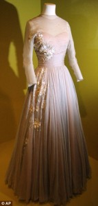 High Society gown on display at the Victoria & Albert