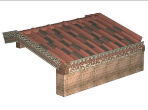 KİLİSE ANLAYIŞINA GÖRE İŞARET VE SEMBOLLERİN ANLAMLARI MANALARI Digital-reconstruction-of-finished-roof-300x224