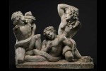 Three Satyrs Fighting a Serpent, Roman copy of Hellenistic original, 1st c. A.D.